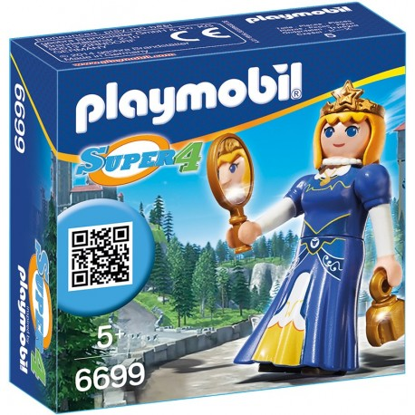 PLAYMOBIL - SUPER 4 - KSIEŻNICZKA LEONORA - 6699
