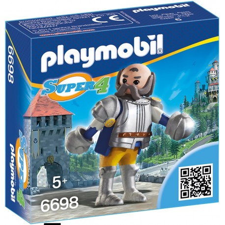 PLAYMOBIL - SUPER 4 - KRÓLEWSKI STRAŻNIK SIR ULF - 6698