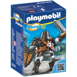 PLAYMOBIL - SUPER 4 - CZARNY COLOSSUS - 6694