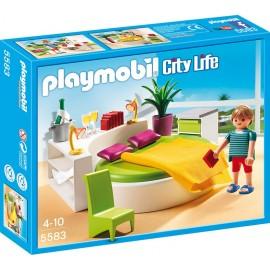 PLAYMOBIL - CITY LIFE - OKRĄGŁE ŁÓŻKO - 5583
