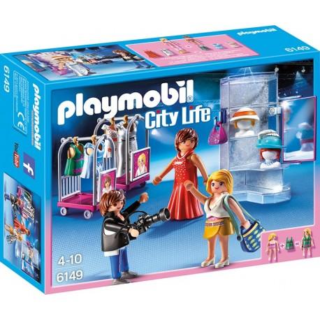 PLAYMOBIL - CITY LIFE - POKAZ MODY Z SESJĄ ZDJĘCIOWĄ - 6149