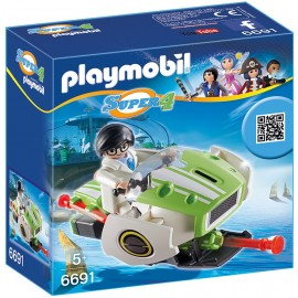 PLAYMOBIL - SUPER 4 - SKYJET - 6691