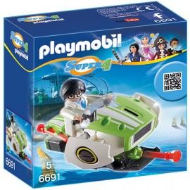 PLAYMOBIL - SUPER 4 - SKYJET - 6691