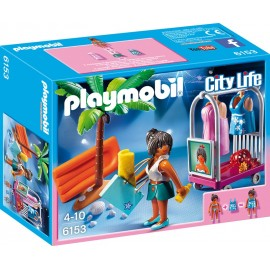 PLAYMOBIL - CITY LIFE - SESJA NA PLAŻY - 6153