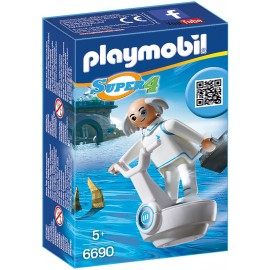 PLAYMOBIL - SUPER 4 - DR. X - 6690