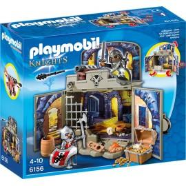 PLAYMOBIL - KNIGHTS GAME BOX - RYCERSKA KOMORA ZE SKARBEM - 6156