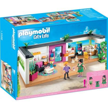 PLAYMOBIL - CITY LIFE - BUNGALOW DLA GOŚCI - 5586