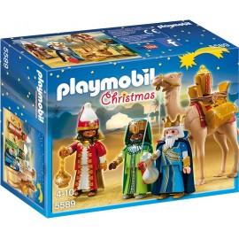 PLAYMOBIL - CHRISTMAS - TRZEJ KRÓLOWIE - 5589