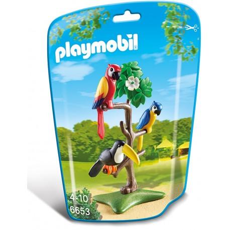 PLAYMOBIL - CITY LIFE - PAPUGI I TUKAN - 6653