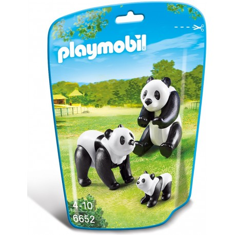 PLAYMOBIL - CITY LIFE - RODZINA PAND - 6652
