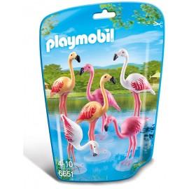 PLAYMOBIL - CITY LIFE - FLAMINGI - 6651