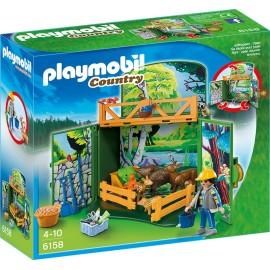 PLAYMOBIL - COUNTRY - GAME BOX KARMIENIE LEŚNYCH ZWIERZĄT - 6158