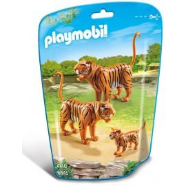 PLAYMOBIL - CITY LIFE - TYGRYSY - 6645