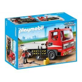 PLAYMOBIL - CITY ACTION - CIĘŻARÓWKA BUDOWLANA - 5283