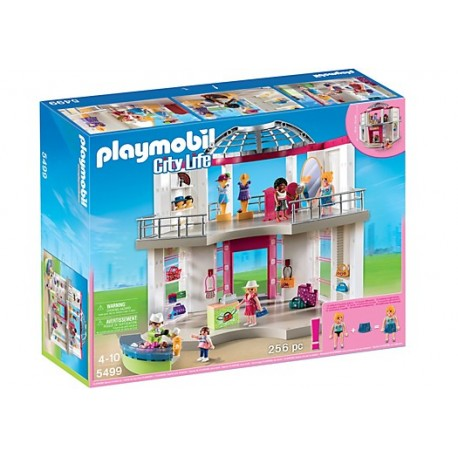 PLAYMOBIL - CITY LIFE - MAŁE CENTRUM HANDLOWE - 5499