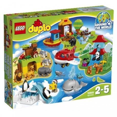 LEGO - DUPLO - DOOKOŁA ŚWIATA - 10805