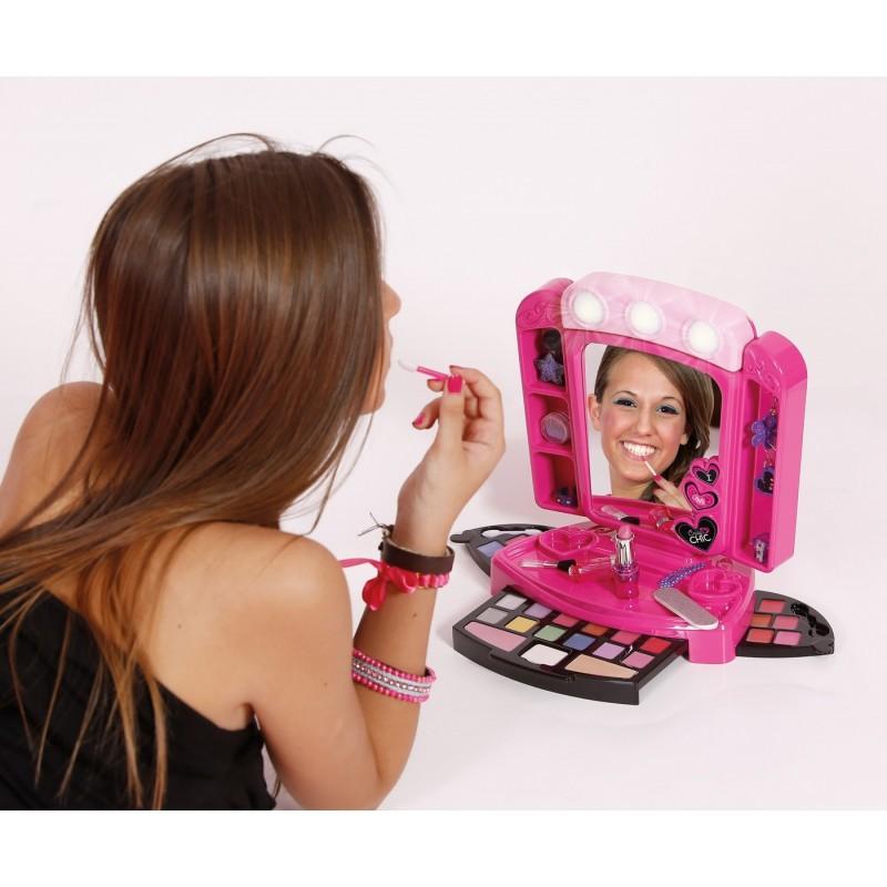 Clementoni Crazy Chic Lustro I Kosmetyki Do Makijażu 78224
