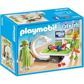 PLAYMOBIL - CITY LIFE - POKÓJ RENTGENOWSKI - 6659