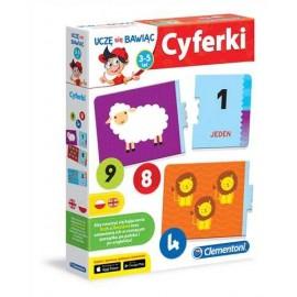 CLEMENTONI - CYFERKI - 60918