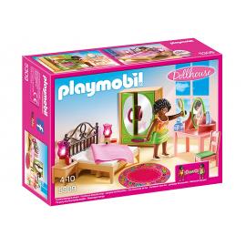 PLAYMOBIL - DOLLHOUSE - SYPIALNIA Z TOALETKĄ - 5309
