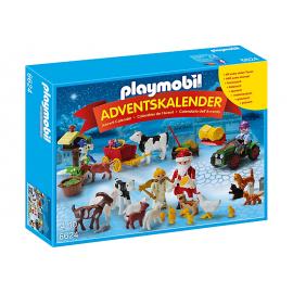PLAYMOBIL - CHRISTMAS - KALENDARZ ADWENTOWY ŚWIĘTA W GOSPODARSTWIE - 6624