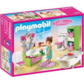 PLAYMOBIL - DOLLYHOUSE - ROMANTYCZNA ŁAZIENKA - 5307