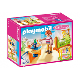 PLAYMOBIL - DOLLHOUSE - POKÓJ DLA NIEMOWLAKA - 5304