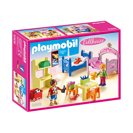 PLAYMOBIL - DOLLHOUSE - KOLOROWY POKÓJ DZIECIĘCY - 5306