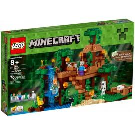 LEGO - MINECRAFT - DOMEK NA DRZEWIE W DŻUNGLI - 21125
