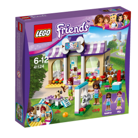 LEGO® - FRIENDS - PRZEDSZKOLE DLA SZCZENIĄT W HEARTLAKE - 41124