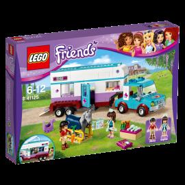 LEGO - FRIENDS - PRZYCZEPA LECZNICZA DLA KONI - 41125