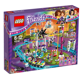LEGO - FRIENDS - KOLEJKA GÓRSKA W PARKU ROZRYWKI - 41130