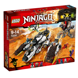 LEGO® - NINJAGO® - NIEWYKRYWALNY POJAZD NINJA - 70595
