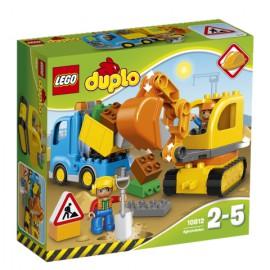 LEGO® - DUPLO® - CIĘŻARÓWKA I KOPARKA GĄSIENICOWA - 10812