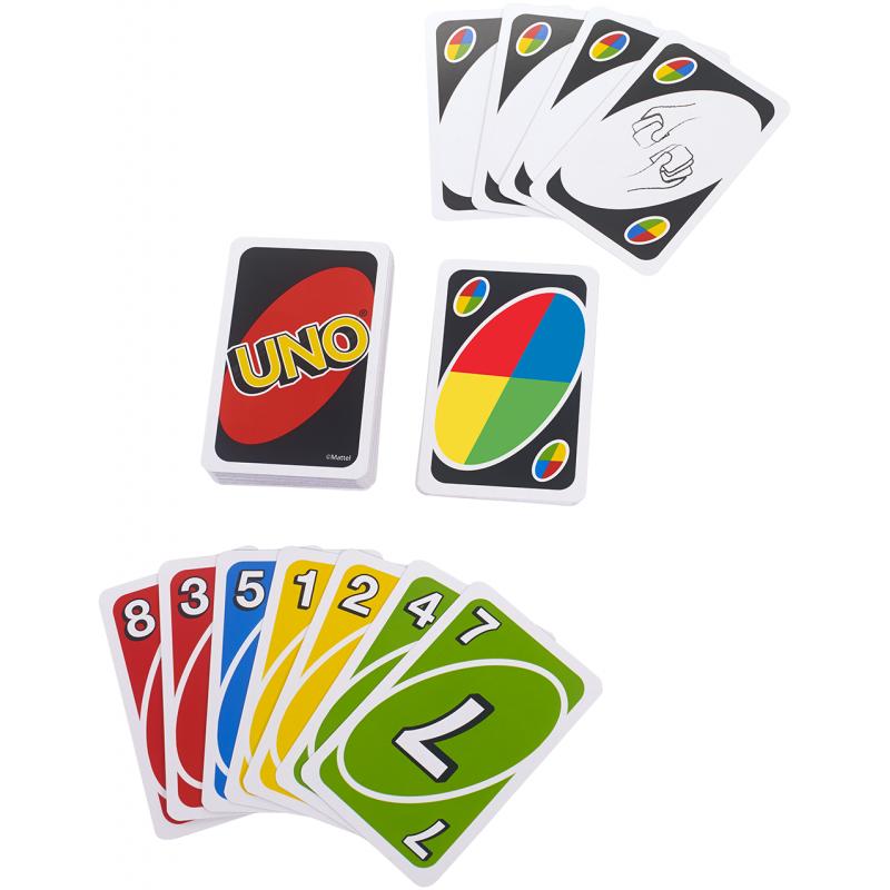 Mattel Gra Karciana Uno Dzikie Karty W2085 Krolestwo Dzieci