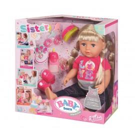 BABY BORN - LALKA INTERAKTYWNA - SIOSTRA - 819210