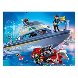 PLAYMOBIL - CITY ACTION - MOTORÓWKA POLICYJNA - 4429