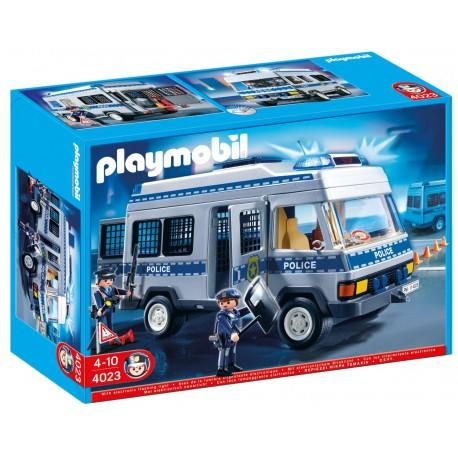 PLAYMOBIL - CITY ACTION - FURGONETKA POLICYJNA - 4023