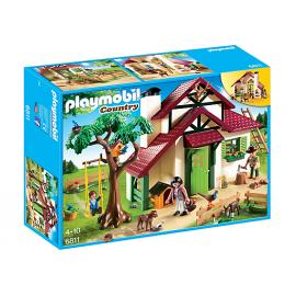 PLAYMOBIL - COUNTRY - DOMEK LEŚNICZEGO - 6811