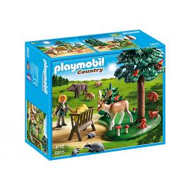 PLAYMOBIL - COUNTRY - POLANKA Z KARMĄ DLA ZWIERZĄT - 6815