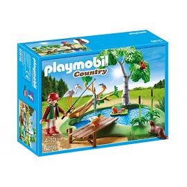 PLAYMOBIL - COUNTRY - STAW Z WĘDKARZEM - 6816