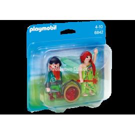 PLAYMOBIL - PRINCESS - DUO PACK - ELF I KRASNAL - 6842