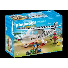 PLAYMOBIL - WILD LIFE - SAMOLOT SAFARI - 6938