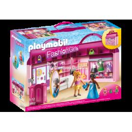 PLAYMOBIL - FASHION GIRLS - PRZENOŚNY BUTIK - 6862