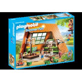 PLAYMOBIL - SUMMER FUN - DOMEK LETNISKOWY - 6887