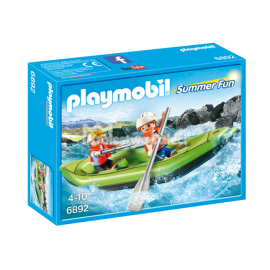PLAYMOBIL - SUMMER FUN - SPŁYW PONTONEM - 6892