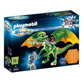 PLAYMOBIL - SUPER 4 - SMOK KRAINY RYCERZY Z ALEXEM - 9001