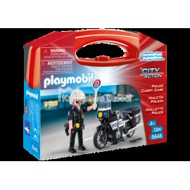PLAYMOBIL - CITY ACTION - SKRZYNKA - POLICJA - 5648