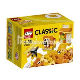 LEGO - CLASSIC - POMARAŃCZOWY ZESTAW KREATYWNY - 10709