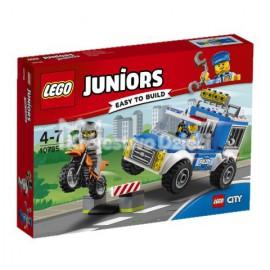 LEGO - JUNIORS - POŚCIG FURGONETKĄ POLICYJNĄ - 10735